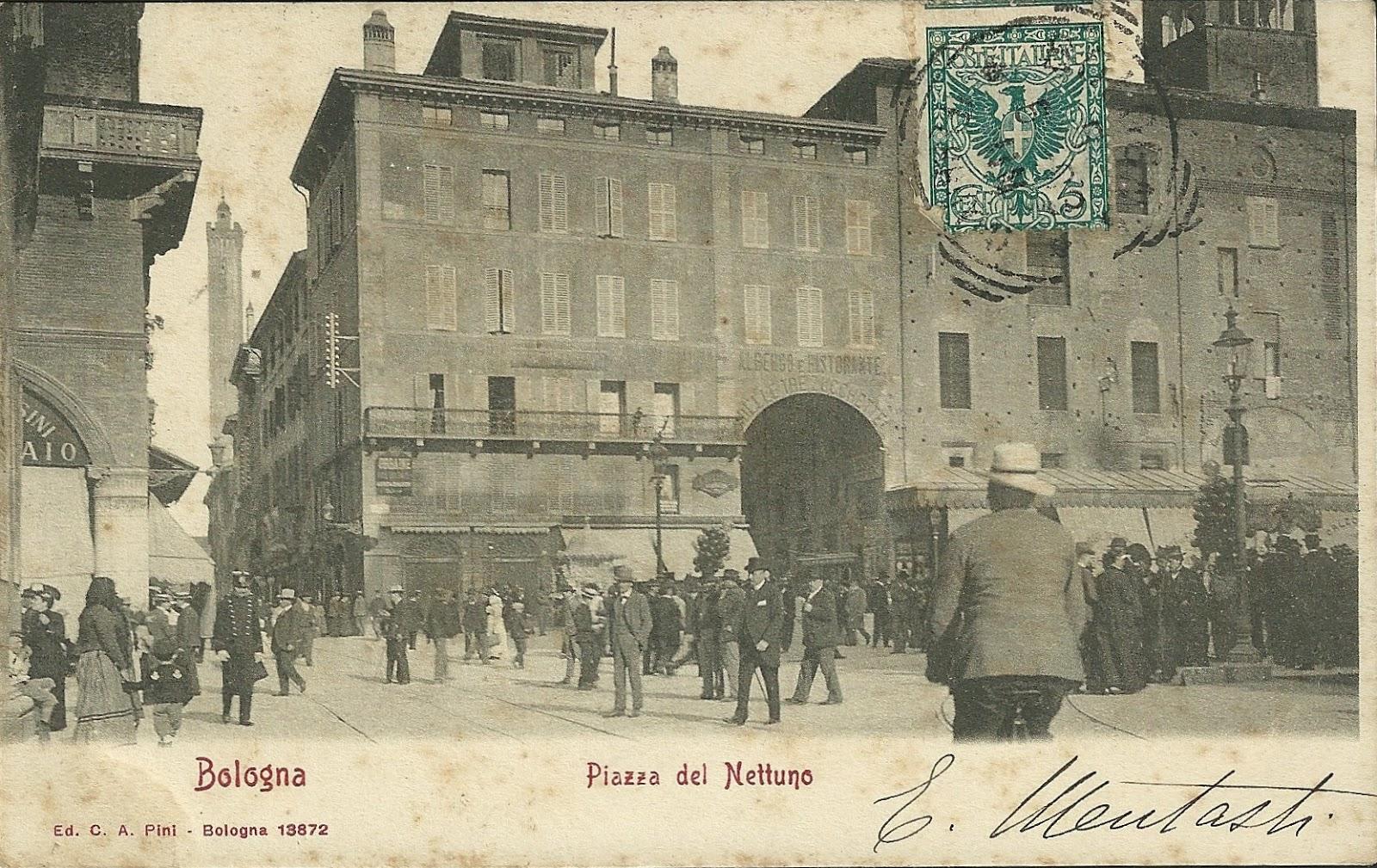 Le trasformazioni del centro di Bologna: Palazzo del Podestà e Palazzo Re Enzo 1905-1913