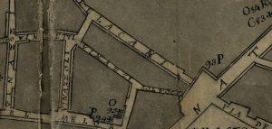 Pianta di Gregorio Monario: Col d'Occa