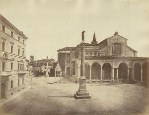 Fotogtrafia all'albumina di Pietro Poppi, ante 1874.