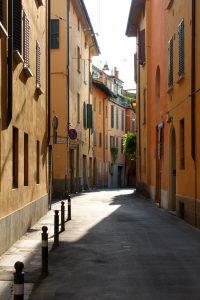Foto scattata da via del Fossato