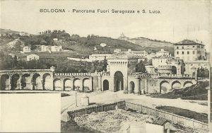 Porta Saragozza - interno delle mura