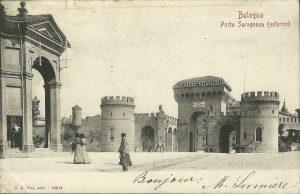 Porta Saragozza - Esterno
