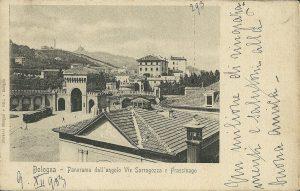 Porta Saragozza e la chiesa dei 33