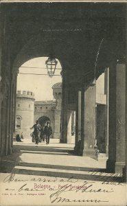 Inizio del portico di San Luca