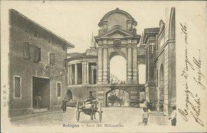 Arco del Meloncello, lato di levante