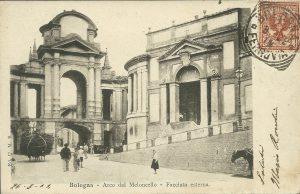 Arco del Meloncello, lato di ponente