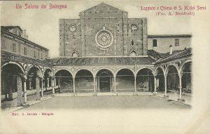 Santa Maria dei Servi: i quadriportico.